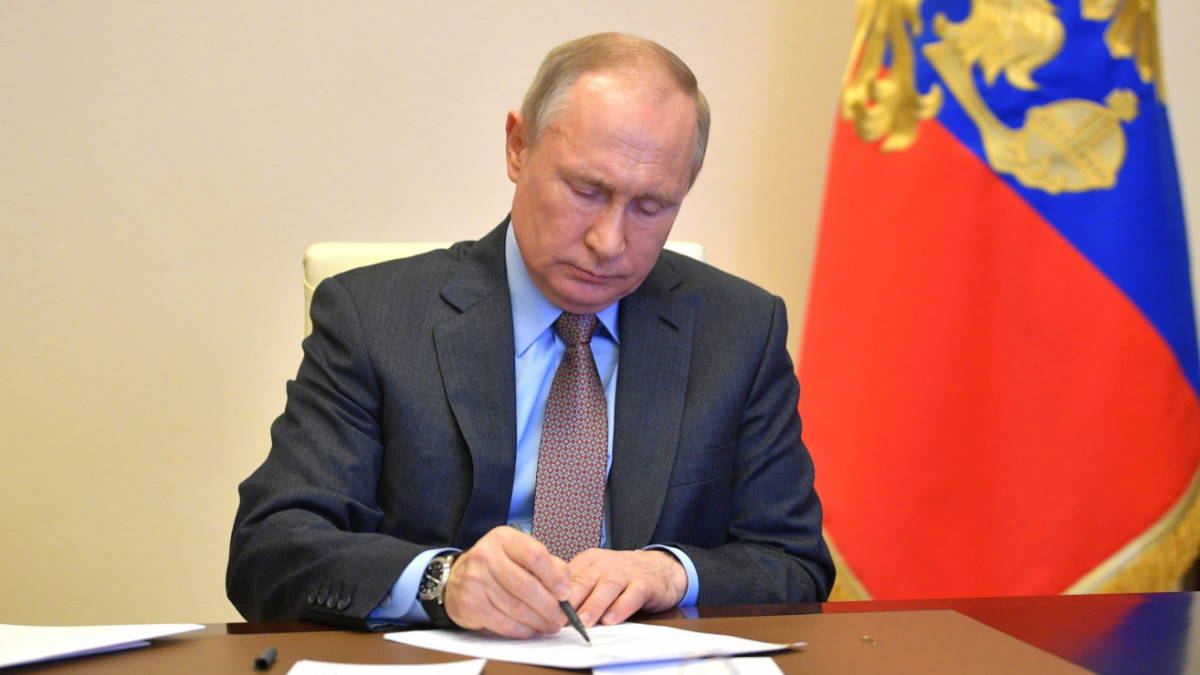 Путин дал официальный старт выборам депутатов Государственной думы