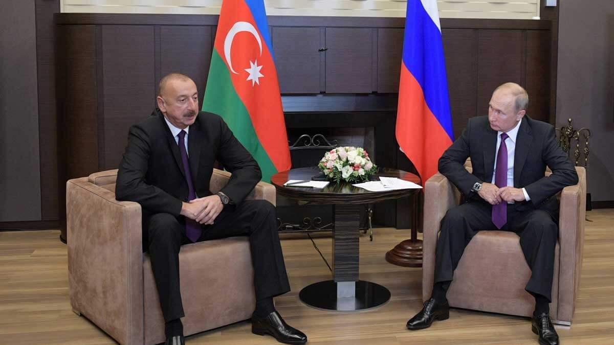 Владимир Путин встретился в Кремле с Президентом Азербайджанской Республики Ильхамом Алиевым