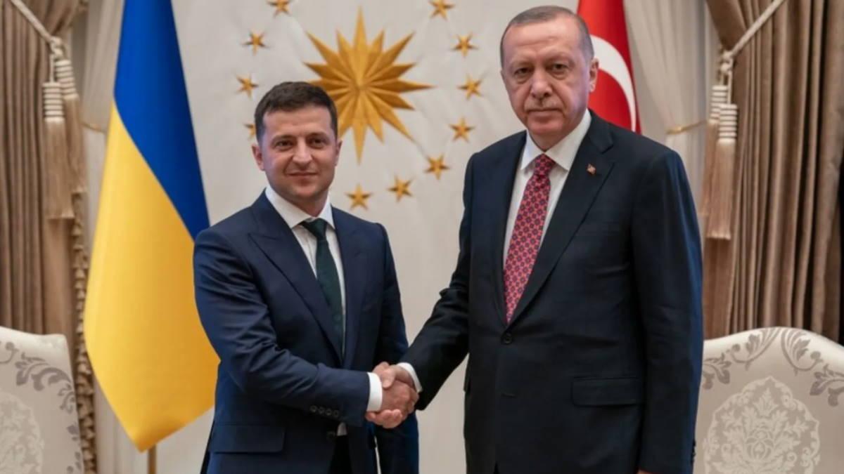 Владимир Зеленский и Реджеп Тайип Эрдоган