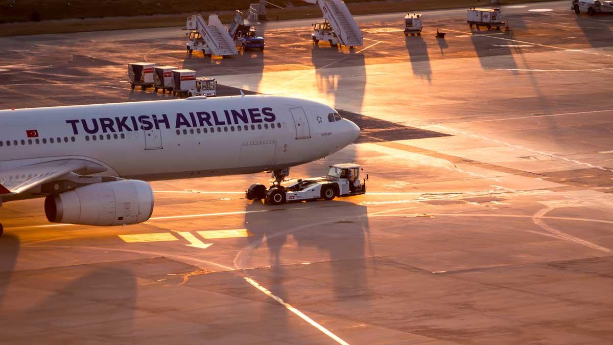 самолет Турция
