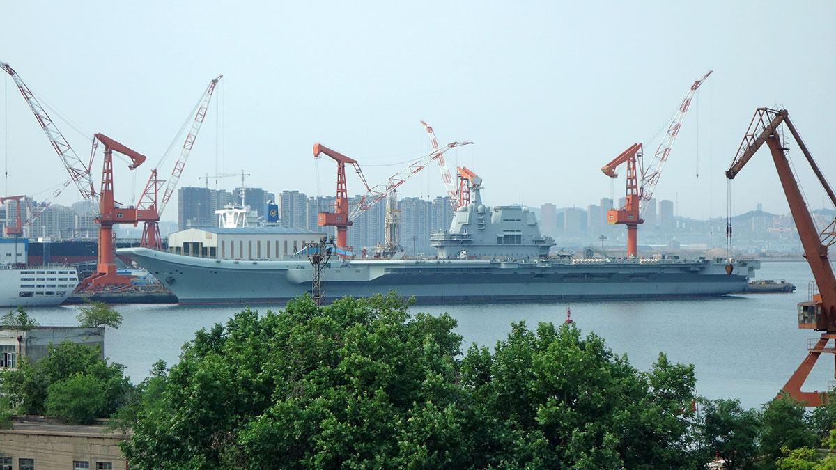 Китайский авианосец Шаньдун тип 002