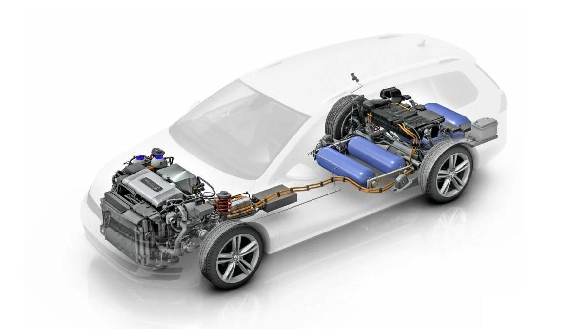 автомобиль с водородным двигателем