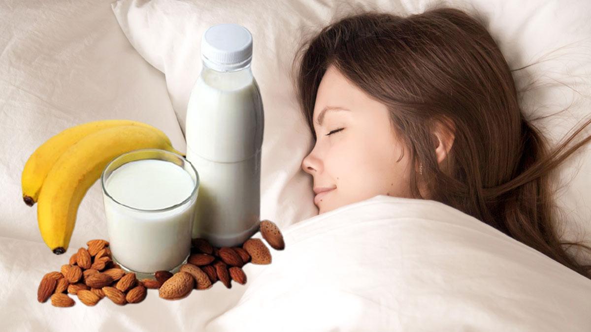 бананы орехи молоко хороший здоровый сон