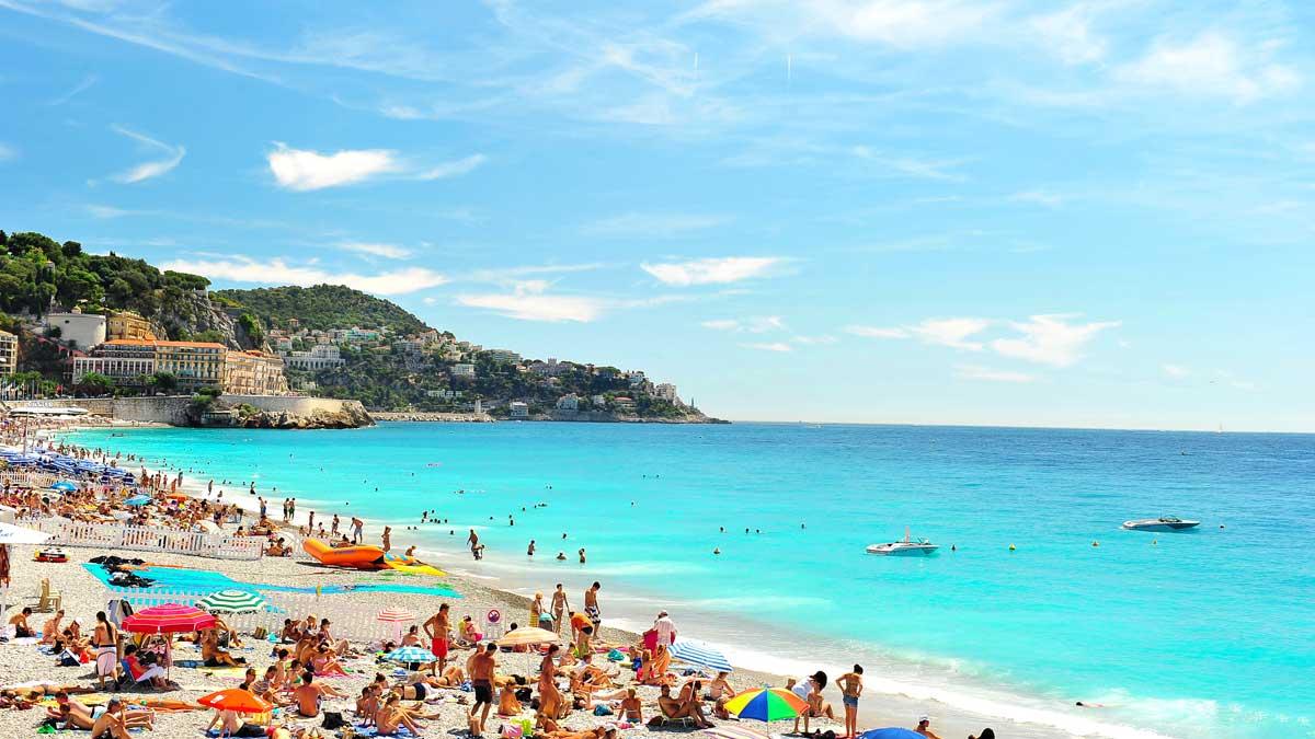 пляж люди море песок