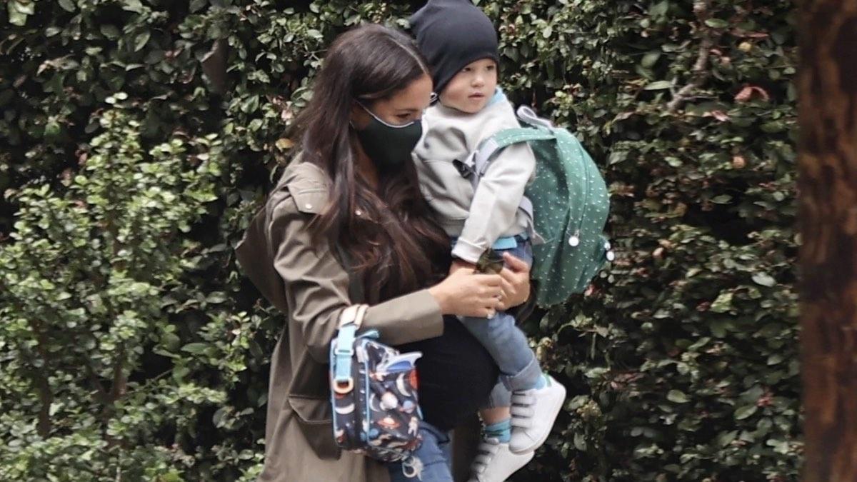 беременная Маркл с Арчи