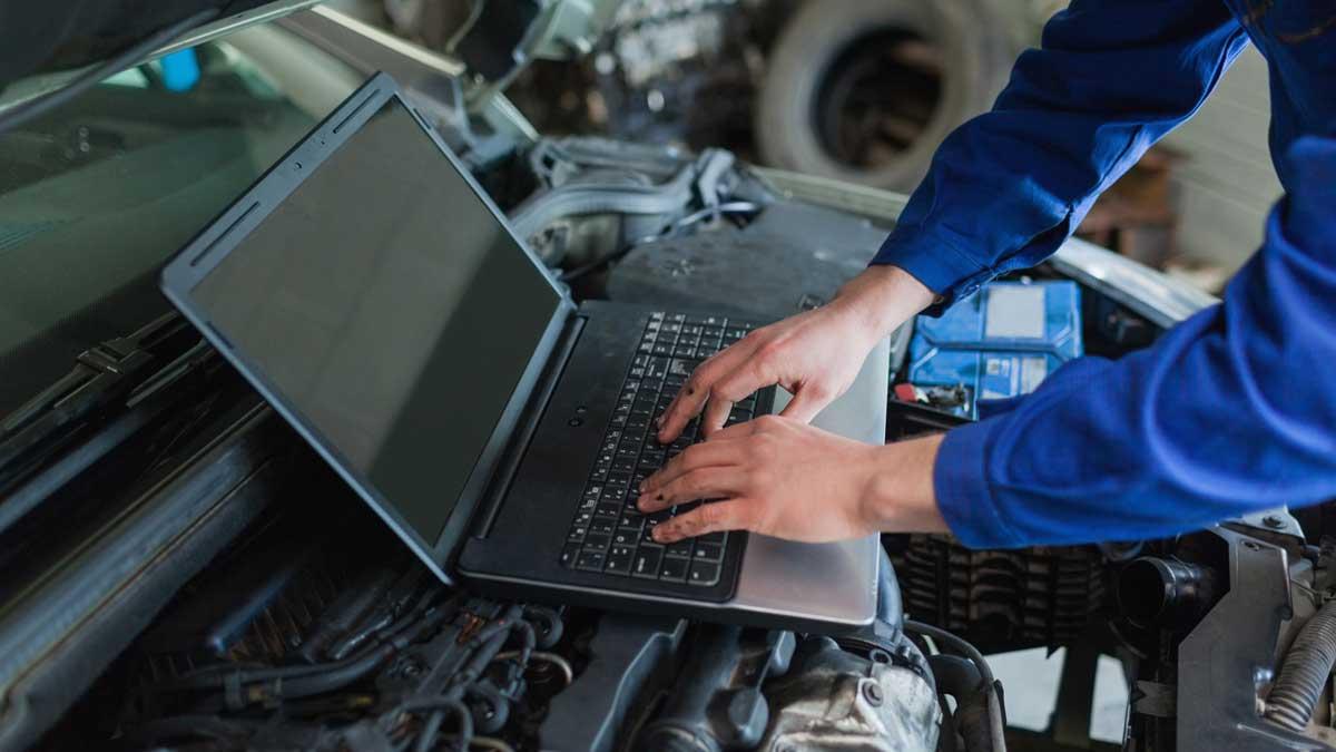 человек компьютер автомобиль техобслуживание
