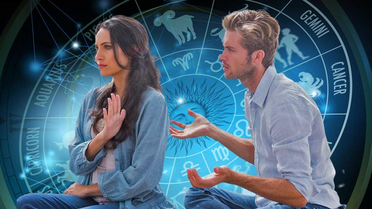 девушка обиделась парень знаки зодиака гороскоп
