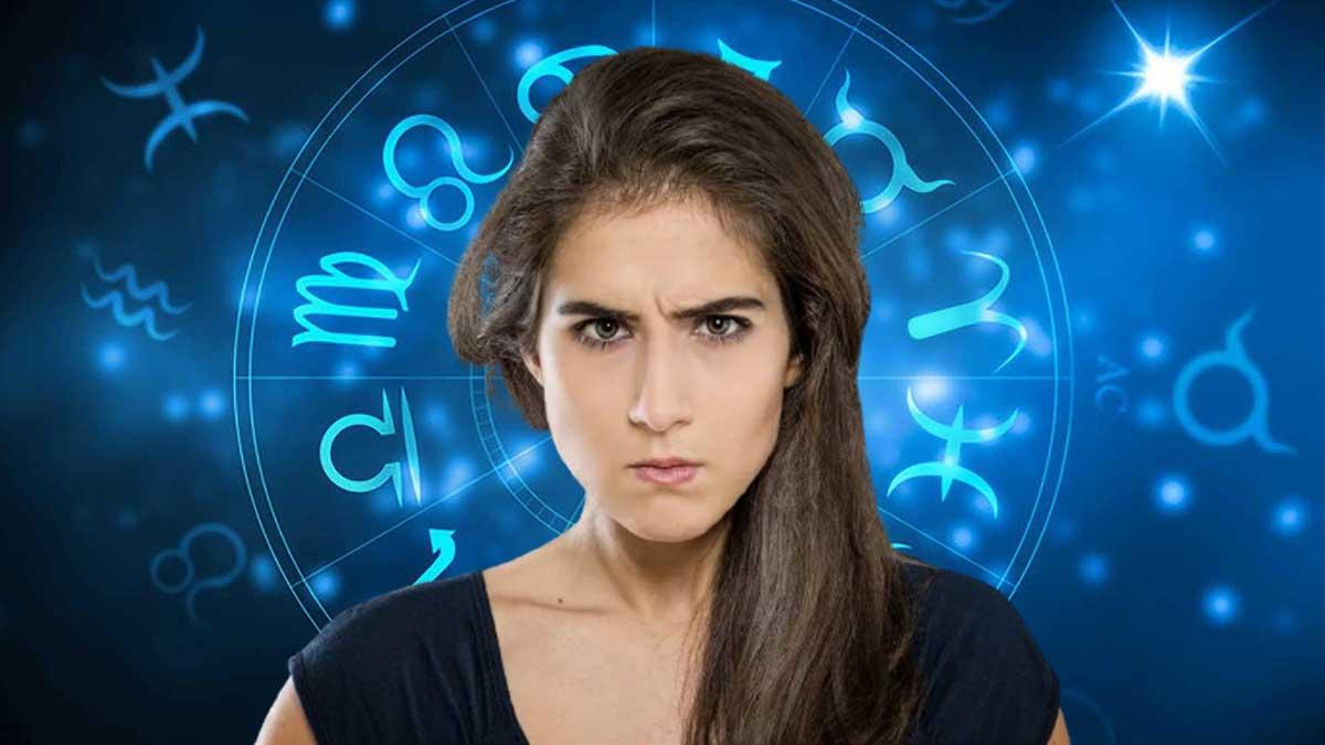 девушка злится знаки зодиака