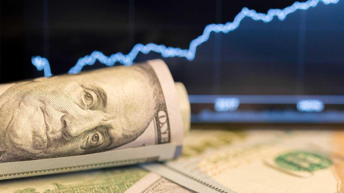 курсы доллар график купюры