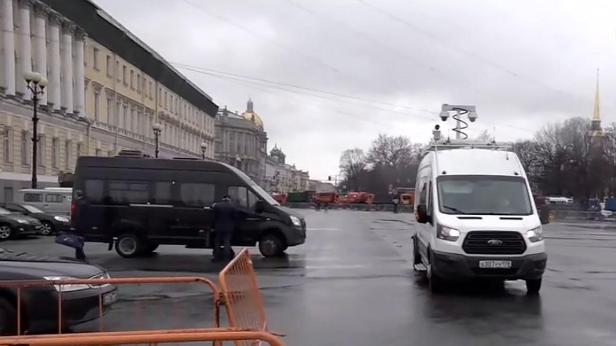 дворцовая площадь перекрытие акция митинг