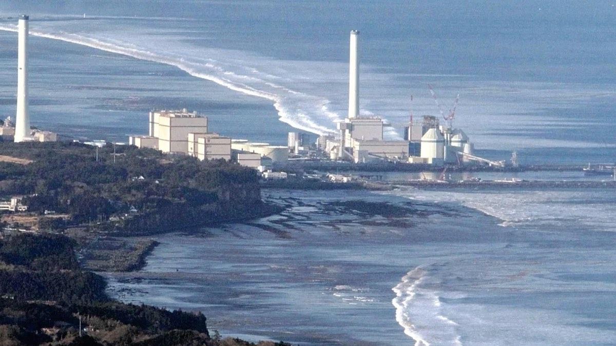 аэс фукусима цунами