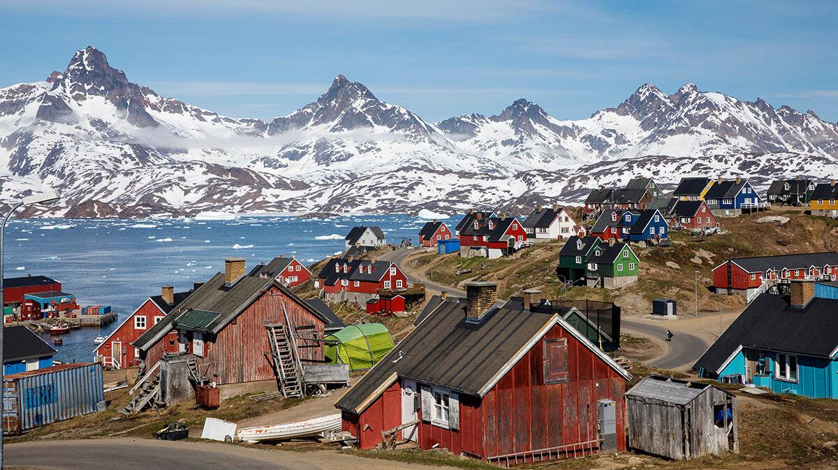 Лето в Гренландии