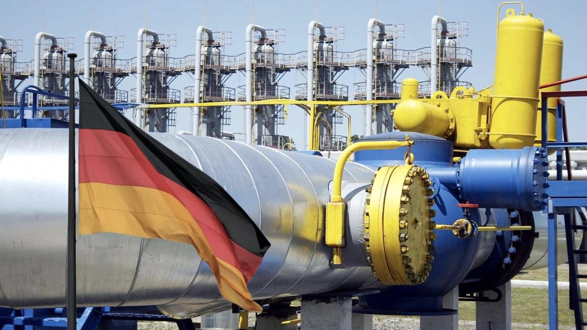 газ для германии
