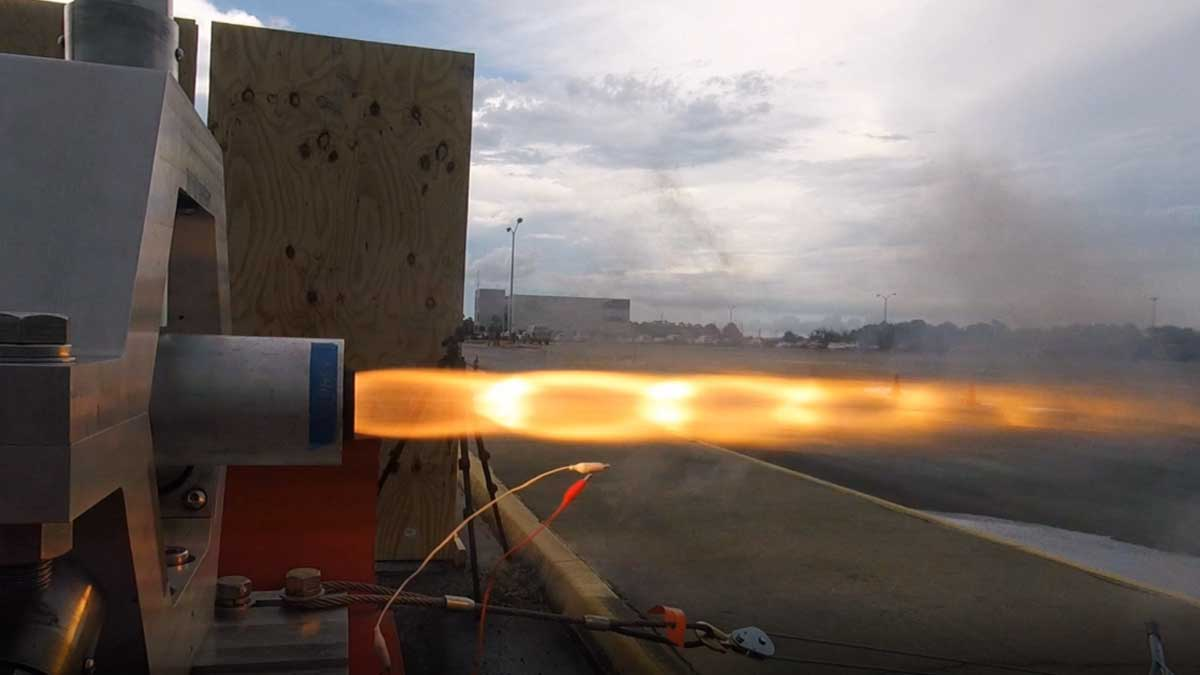 гибридный двигатель для ракеты Турция