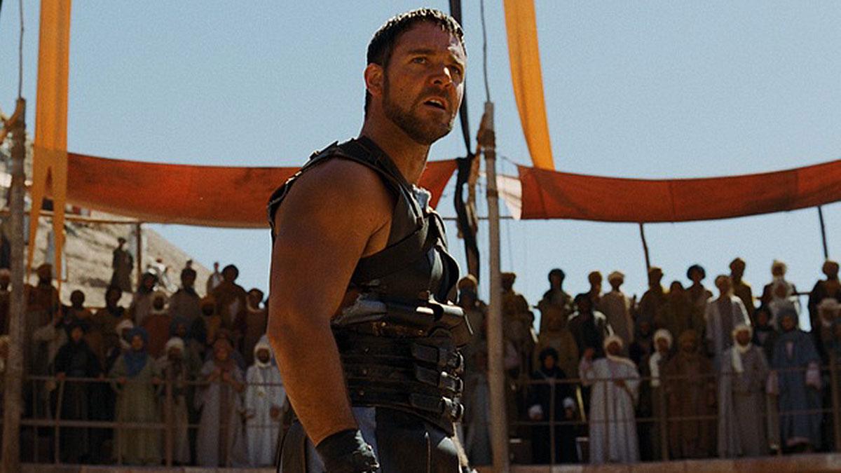 кадр из фильма гладиатор