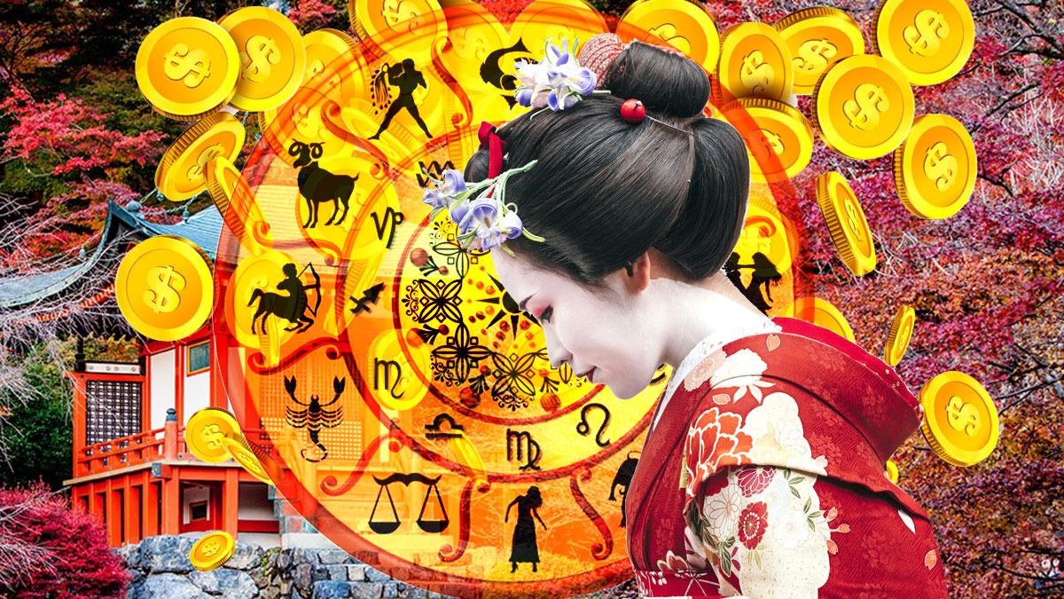гороскоп япония деньги успех знаки зодиака предсказания