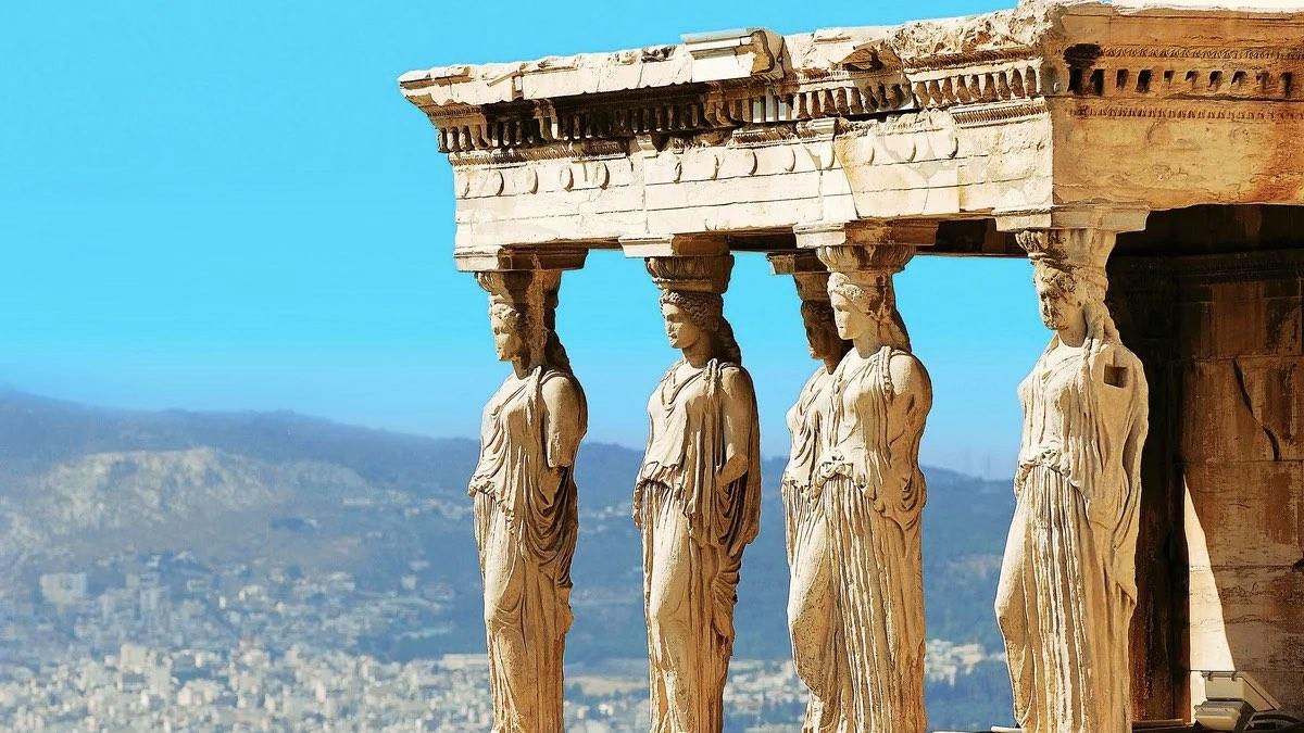 греция статуи храм