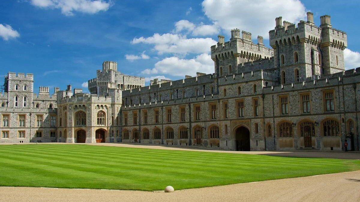 Виндзорский замок Великобритания