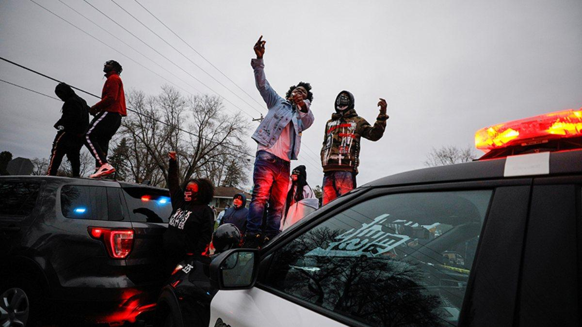протесты в Миннесоте беспорядки