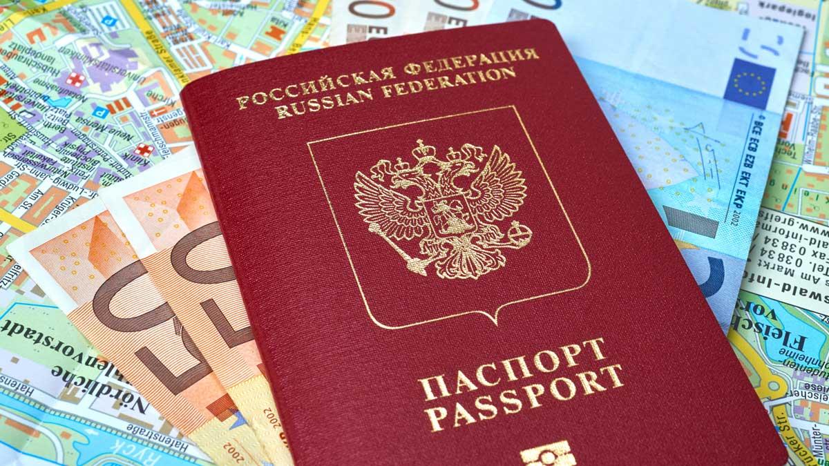 паспорт РФ евро карта