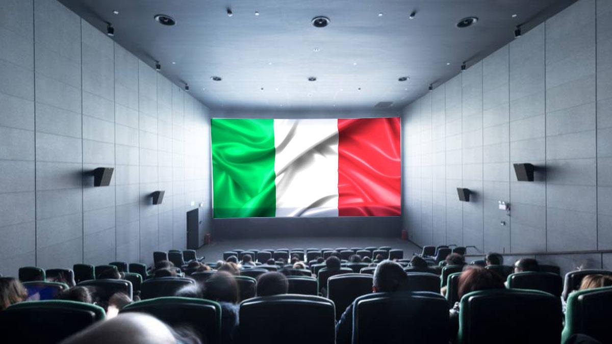 италия кино кинотеарт флаг