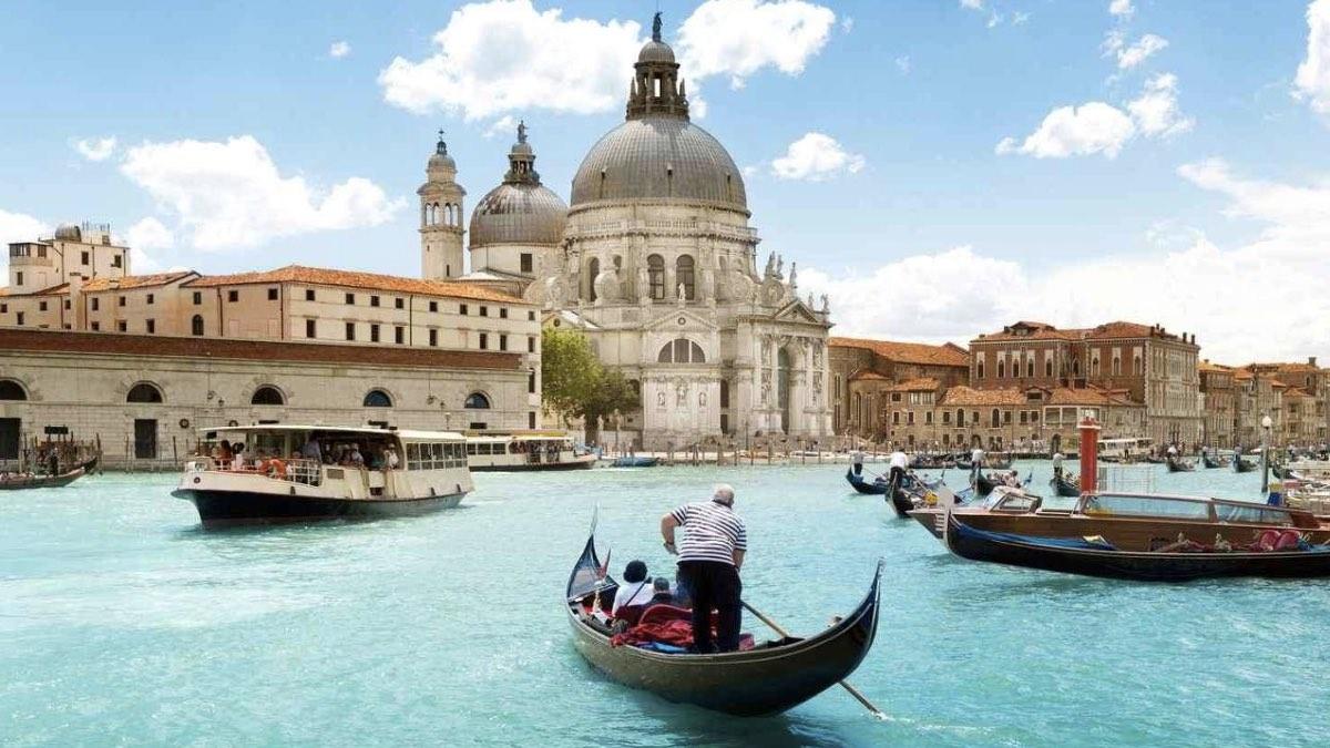 италия венеция канал