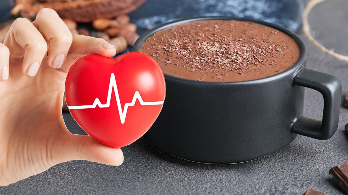 какао напиток чашка здоровое сердце