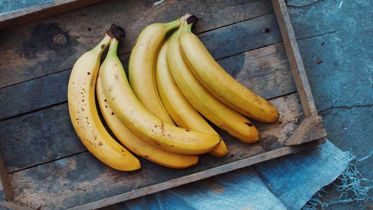 коробка мало бананы