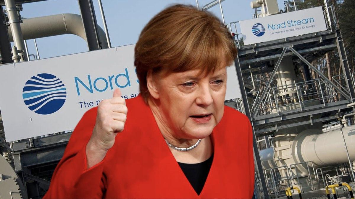меркель и северный поток