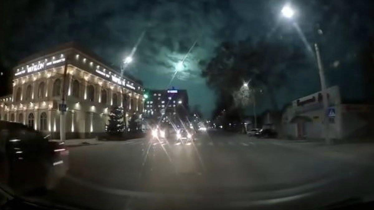 метеорит казахстан