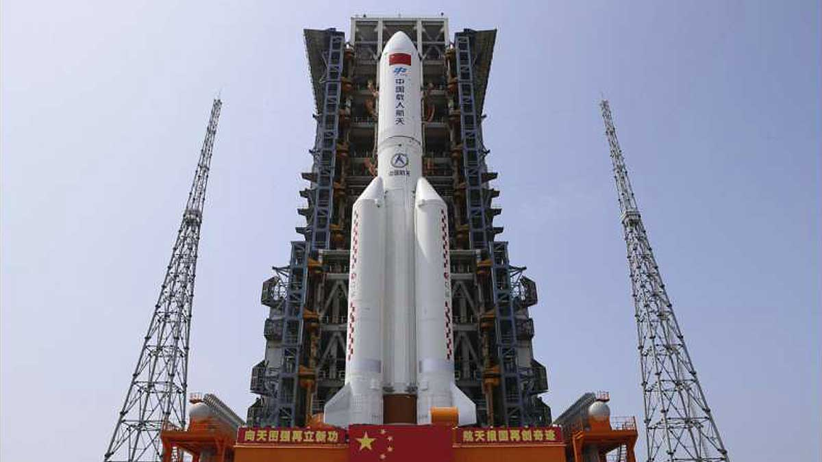 модуль космической станции Heavenly Harmony Китай