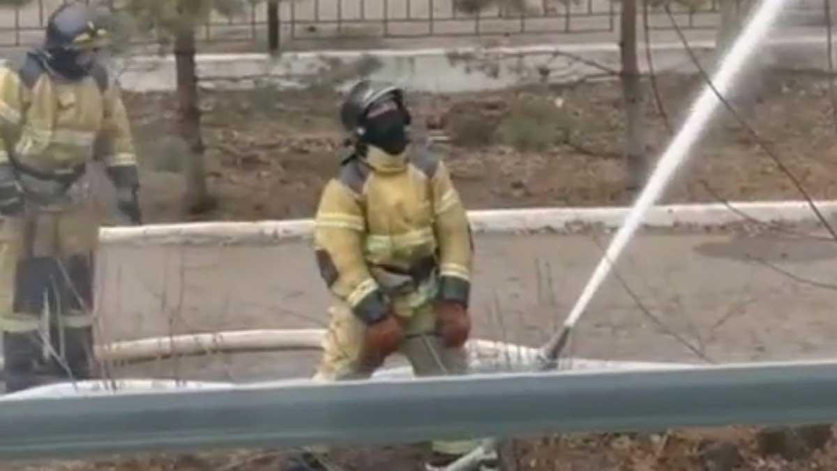 операционная кардиоцентра в Благовещенске во время пожара