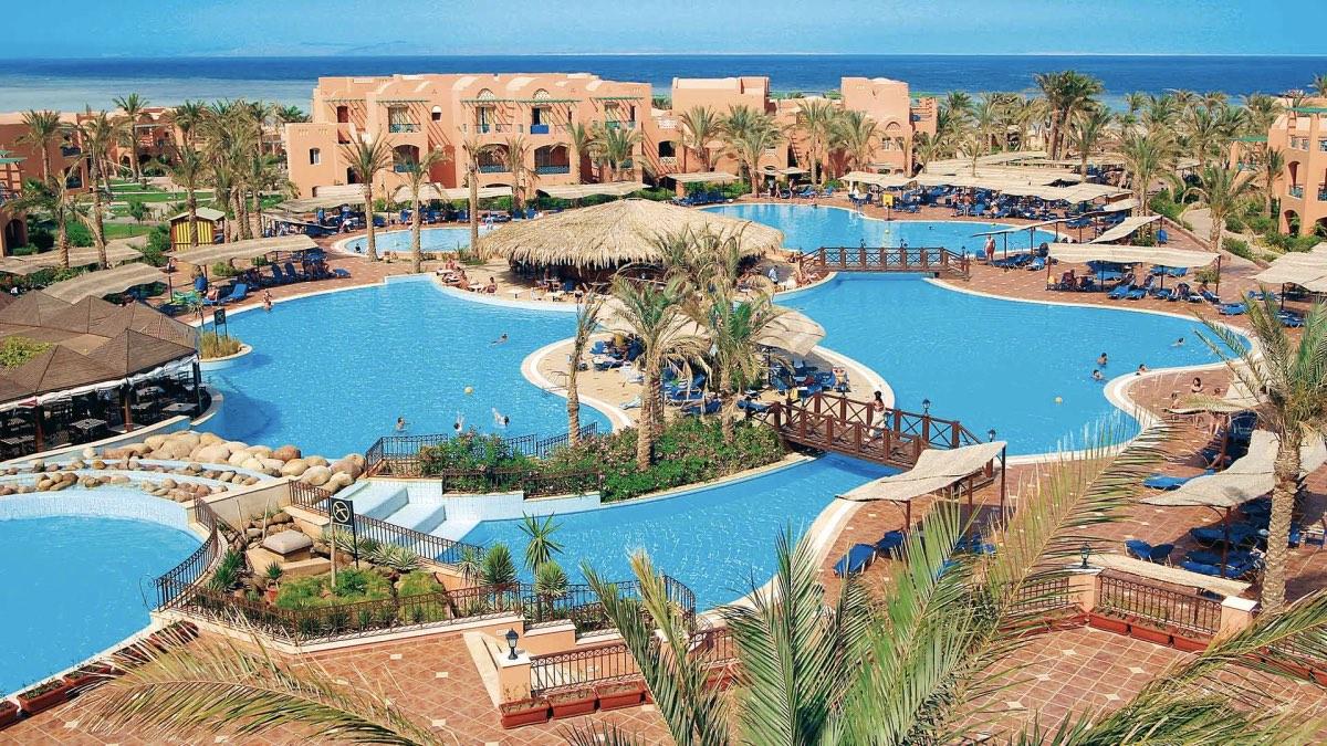 отель Египет бассейн