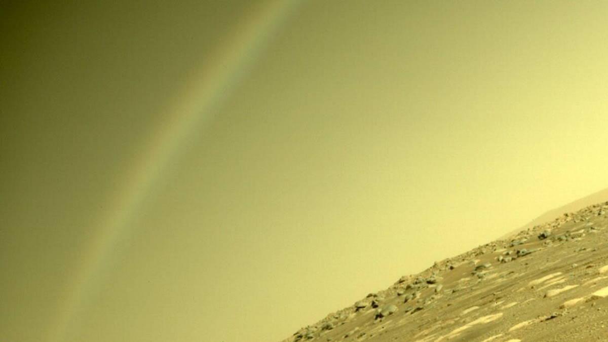 радуга на Марсе