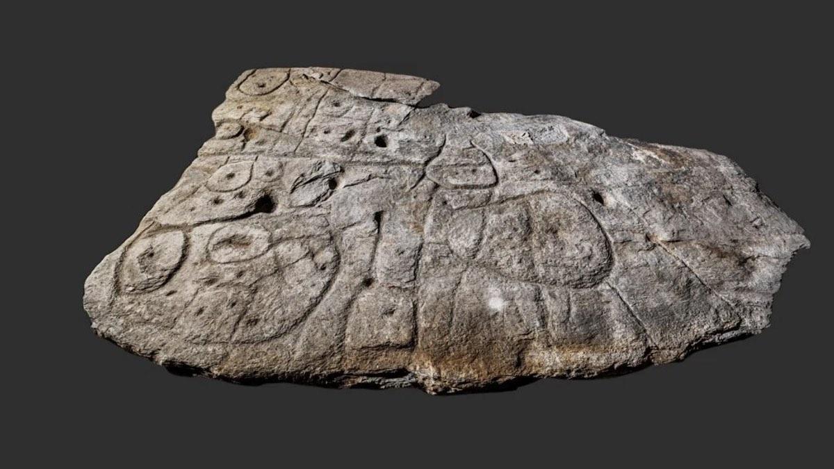 самая древняя каменная карта