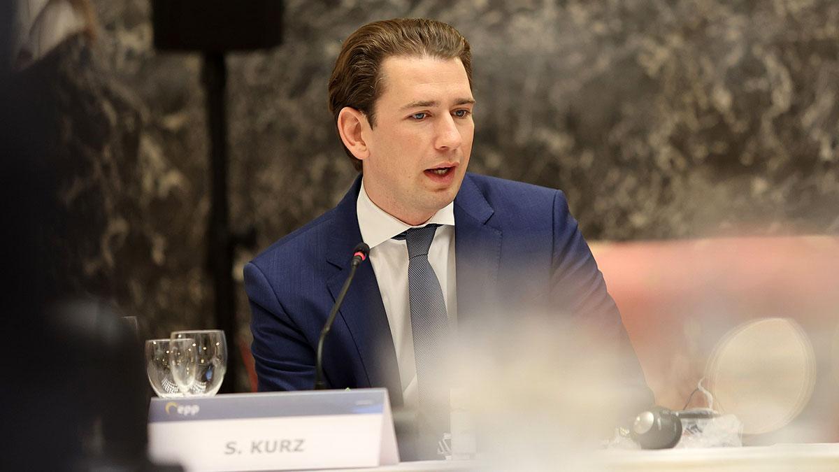 Себастьян Курц Федеральный канцлер Австрии выступление