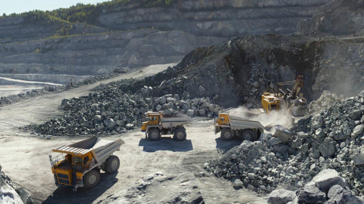 Карьер добыча руды