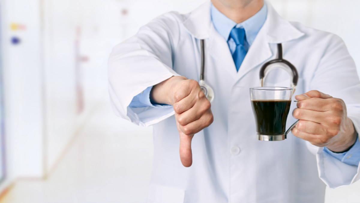 Врач отказ от кофе