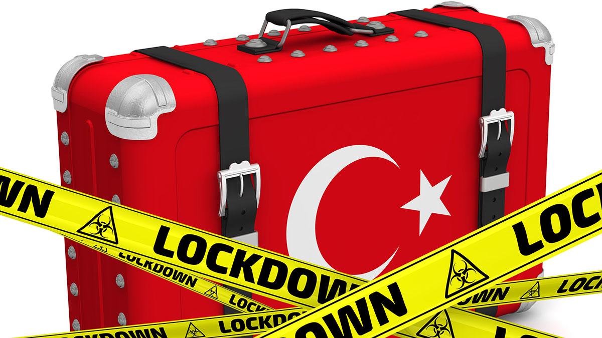 чемодан турция локдаун коронавирус закрытие