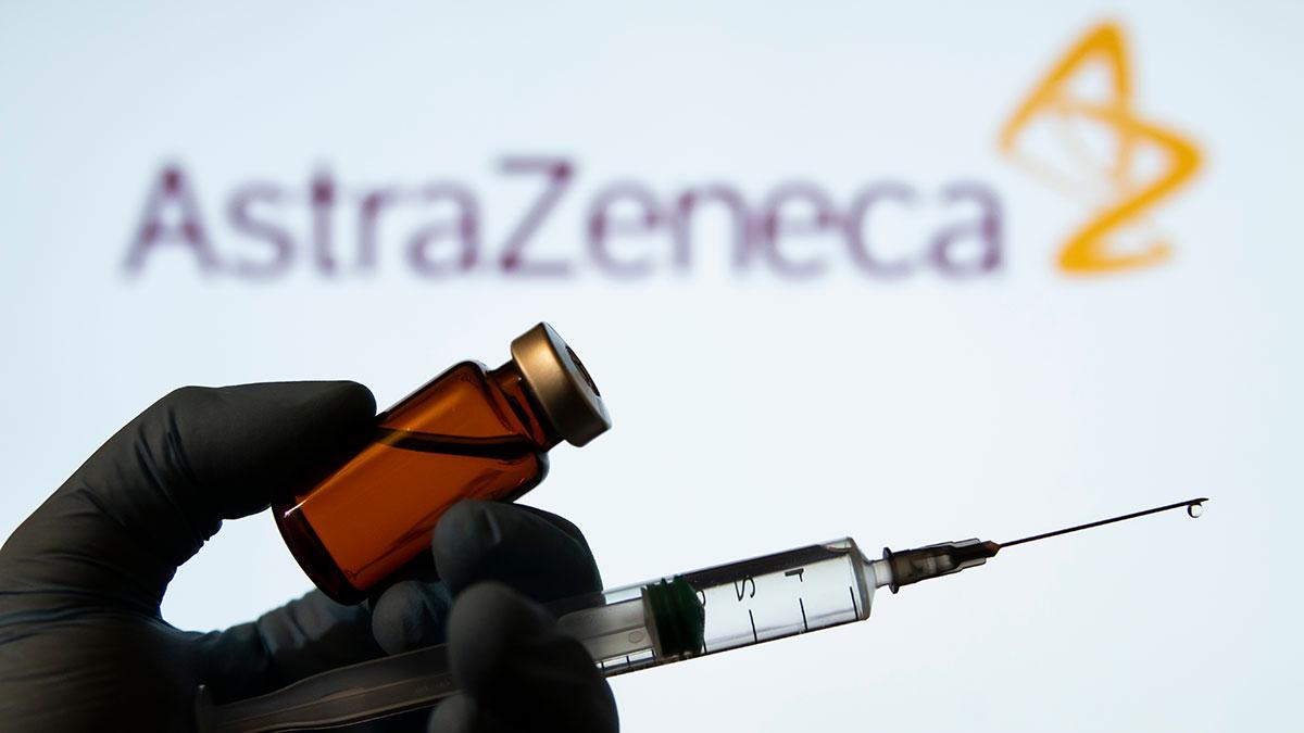 astrazeneca вакцина коронавирус шприц ампула логотип