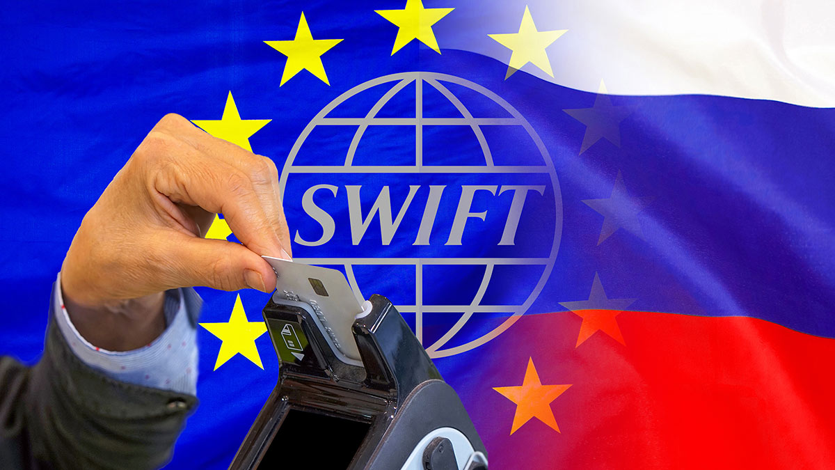 отключение России от Swift