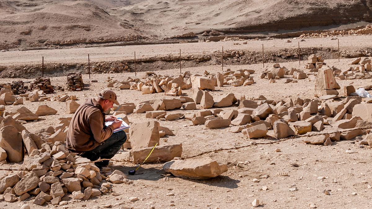 Египет раскопки древности археология