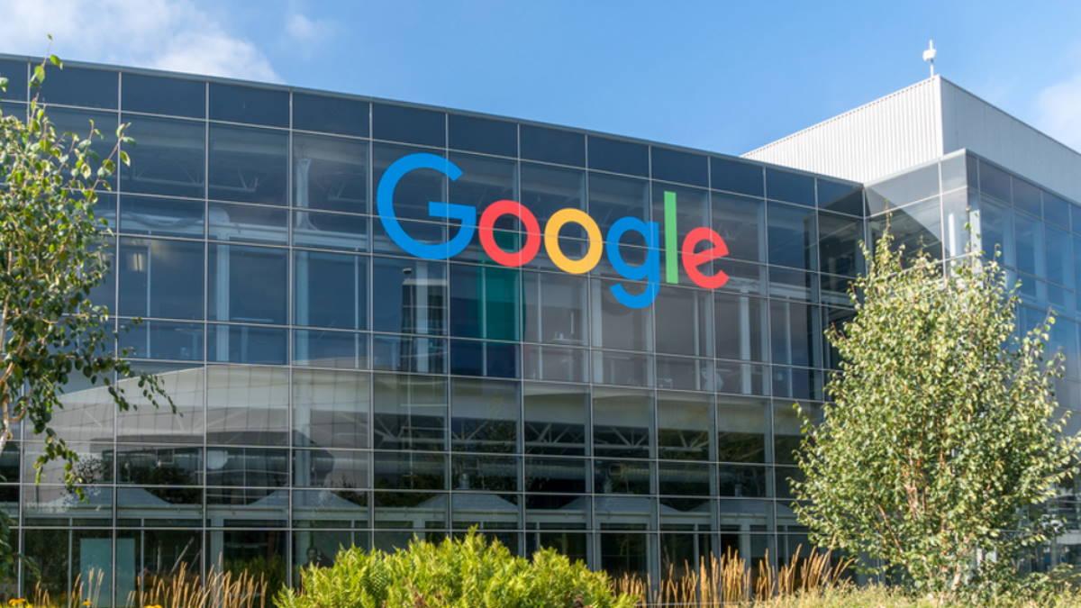 Google логотип здание