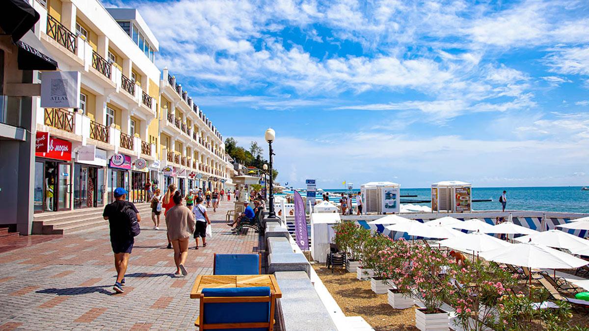 Сочи набережная отели курорт черное море туризм