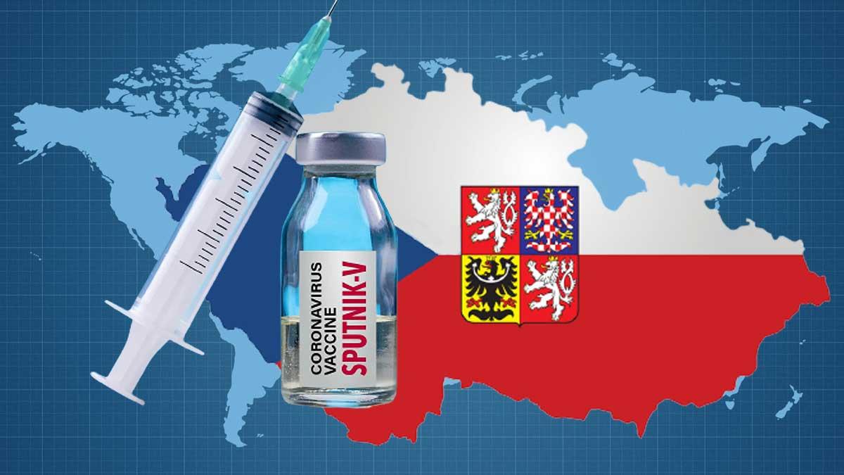Спутник флаги Чехия