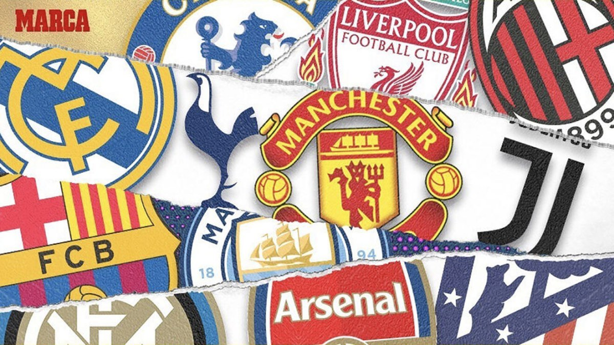 суперлига футбол логотипы клубов