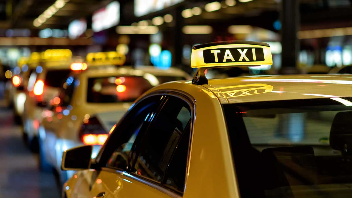 taxi car автомобили такси
