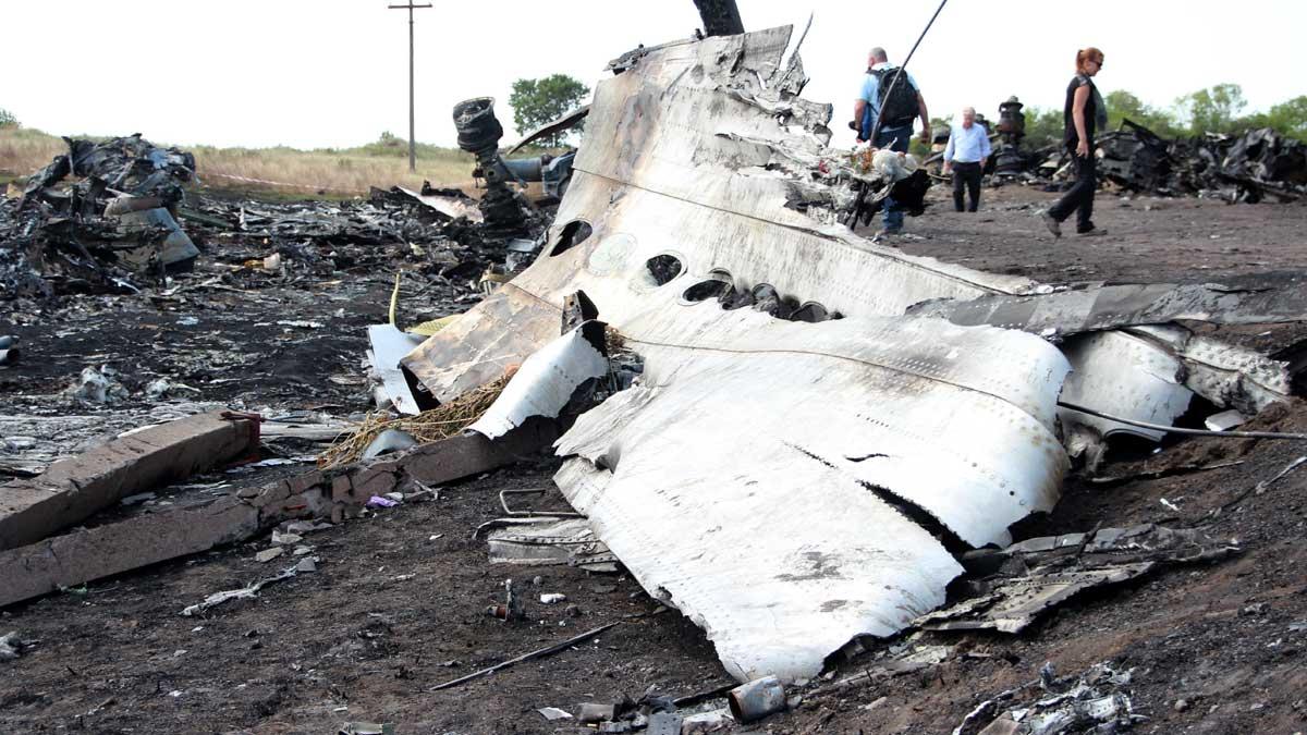 крушение Boeing на Украине в июле 2014 года