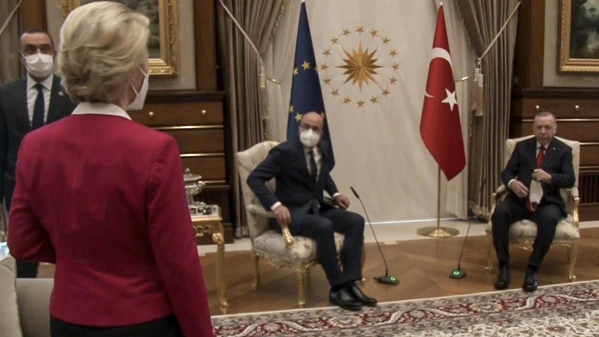 Урсула фон дер Ляйнен в Турции
