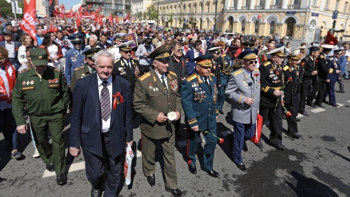 ветераны великой отечественной войны 9 мая